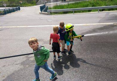 Besuch vom Kindergarten